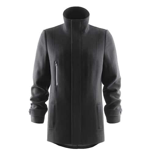 J. Harvest & Frost Hybrid Wool Coat Dames jas
