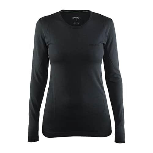 Craft Active Comfort RN LS Dames thermoshirt - zwart