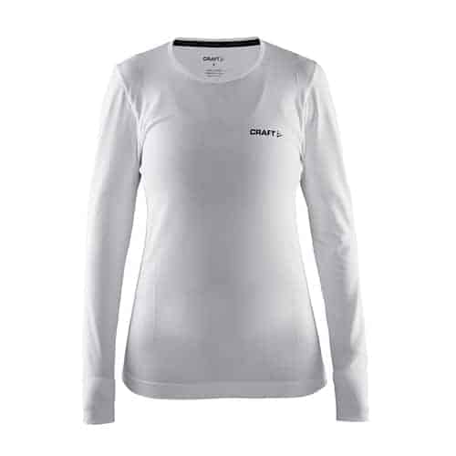 Craft Active Comfort RN LS Dames thermoshirt - wit