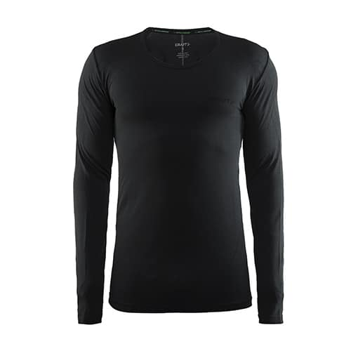Craft Active Comfort RN LS thermoshirt - zwart