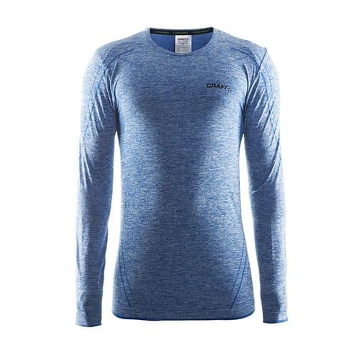 Craft Active Comfort RN LS thermoshirt - blauw