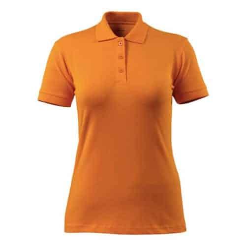 Mascot Grasse dames polo - oranje