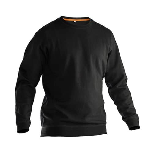 Jobman 65540220 sweater trui - zwart