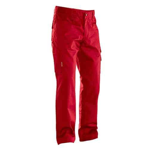 Jobman 65231320 werkbroek - rood