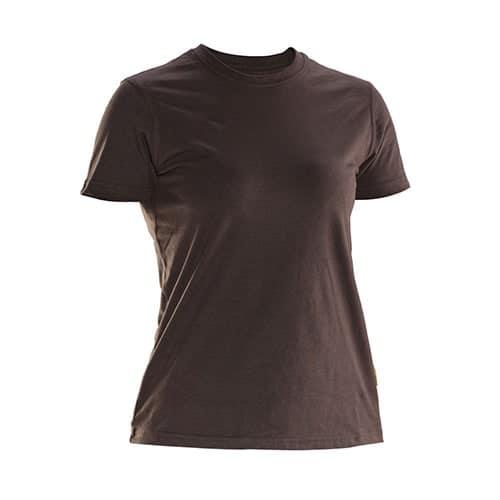 Jobman 65526510 dames T-shirt - bruin