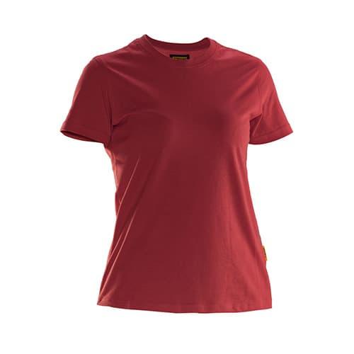 Jobman 65526510 dames T-shirt - rood