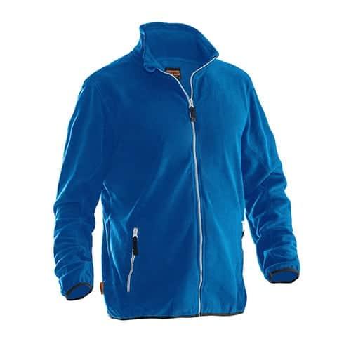 Jobman 65590154 fleece jas - blauw