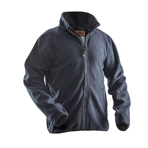 Jobman 65550175 fleece jas - donkerblauw