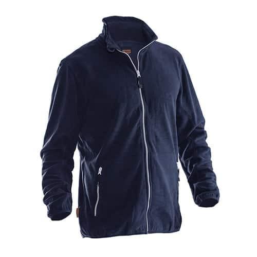 Jobman 65590154 fleece jas - donkerblauw