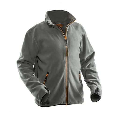Jobman 65550175 fleece jas - grijs