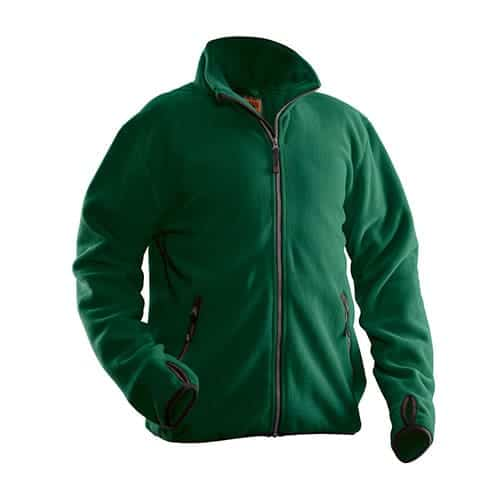 Jobman 65550175 fleece jas - groen