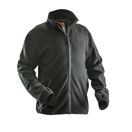 Jobman 65550175 fleece jas - zwart