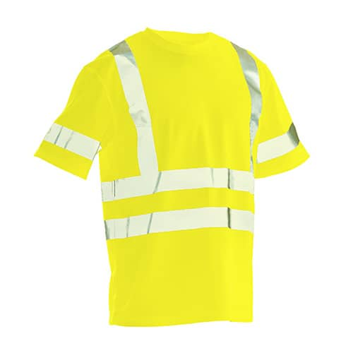 Jobman 65558265 T-shirt -geel