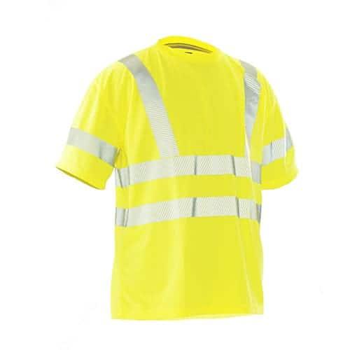 Jobman 65558465 KL3 T-shirt - geel