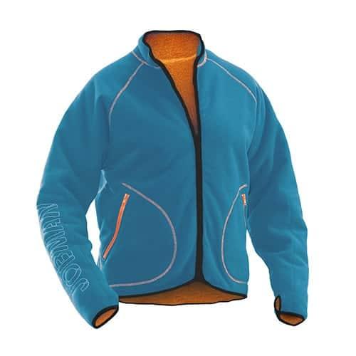 Jobman 65519274 fleece vest - blauw