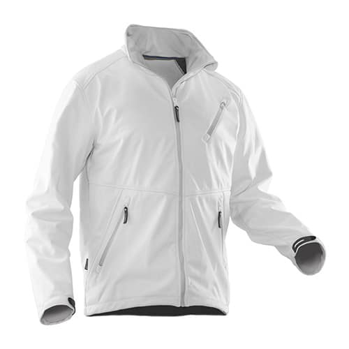 Jobman 65120871 softshell jas - wit