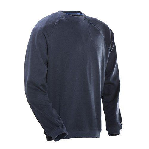 Jobman_roundneck_sweater_donkerblauw