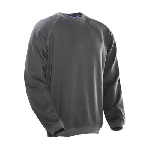 Jobman 65512293 roundneck sweater - grijs
