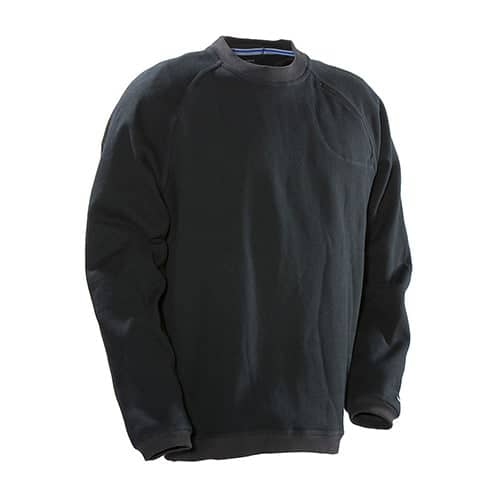 Jobman 65512293 roundneck sweater - zwart