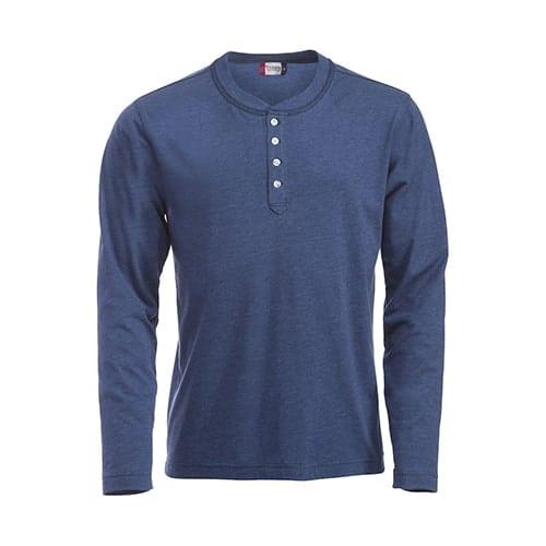 Clique Orlando shirt - donkerblauw