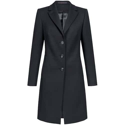 Greiff RF Outdoor D-wollen dames jas - zwart