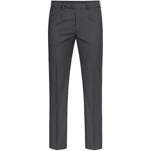 Greiff Heren Basic Pantalon comfort fit - grijs
