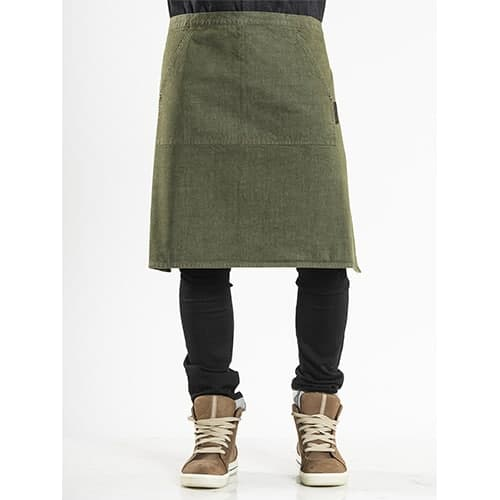 Chaud Devant Pouch Denim sloof - groen