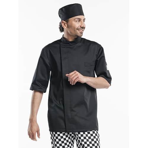 Chaud Devant Bacio Short Sleeve koksbuis - zwart