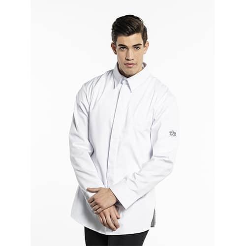 Chaud_Devant_Chef_shirt_koksbuis_wit