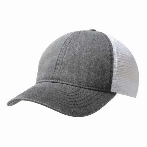 Kingcap_washed_cotton_Trucker_pet_Grijs