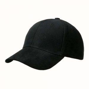Kingcap_ultimate_Brushed_pet_Zwart