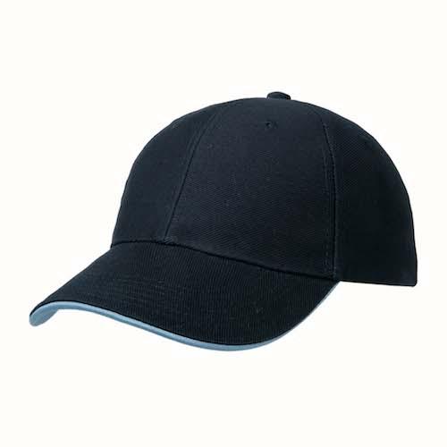 Kingcap_Heavy_twill_duo_Strap_pet_blauw/blauw