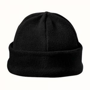 Kingcap_Luxury_fleece_hoed_Zwart