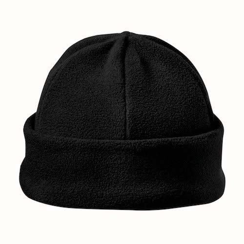 Kingcap_Luxury_fleece_hoed_Zwart