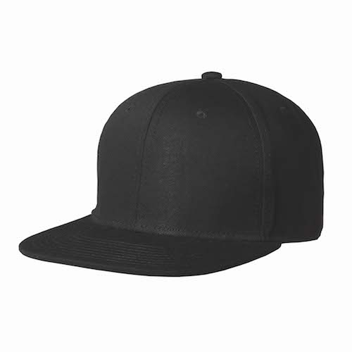 Kingcap_Snap_back_zwart
