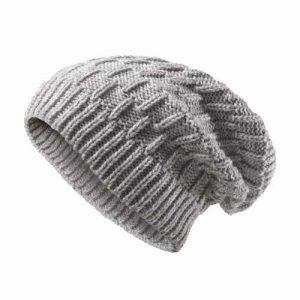Kingcap_heavy_knitted_slouchy_hoed_grijs