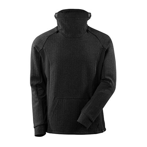 Mascot Advanced sweater met hoge kraag - zwart