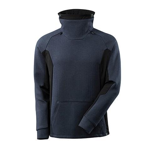Mascot Advanced sweater met hoge kraag - donkerblauw