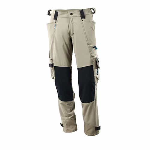 Mascot Advanced werkbroek met Kevlar  - khaki