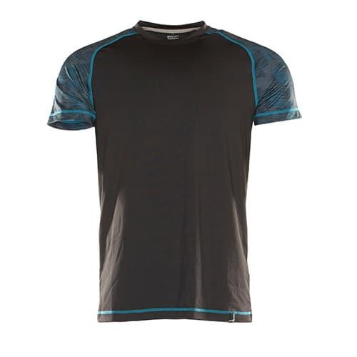 Mascot Advanced T-shirt - zwart/blauw