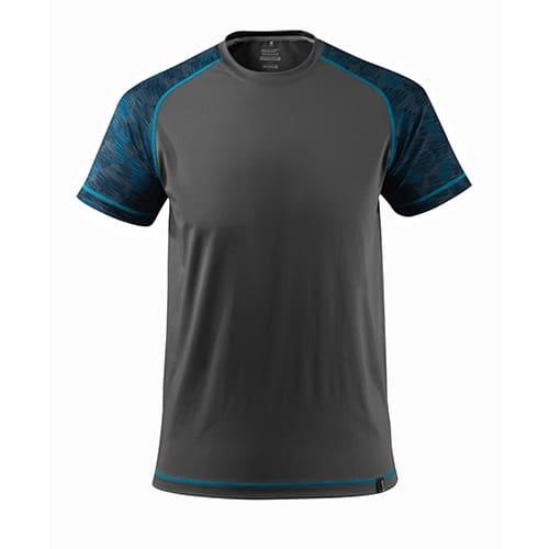 Mascot Advanced T-shirt - grijs/blauw