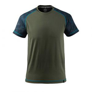mascot_Advanced_Tshirt_groen/blauw
