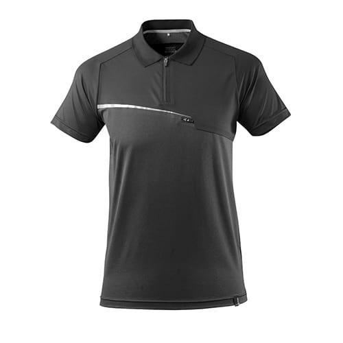 Mascot Advanced polo met borstzak - zwart