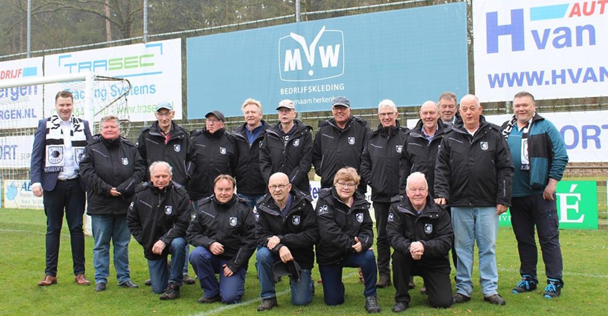 MW Bedrijfskleding trotste sponsor van VV Roden