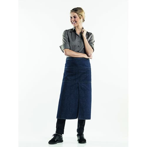 Chaud Devant 4-Pockets Denim sloof - blauw