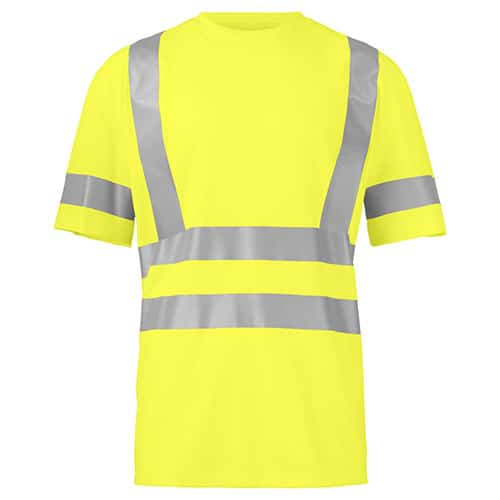Projob Prio 6030 KL2/3 ISO 20471 T-shirt - geel