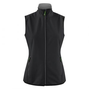 Printer_Trial_bodywarmer_dames_zwart