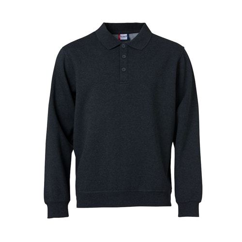Basic_polo_sweater_dgrijs