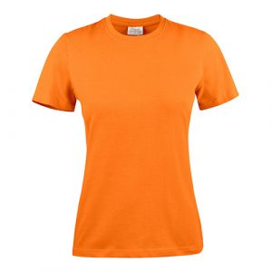 Printer_heavy_shirt_dames_oranje