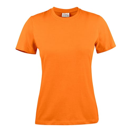 Printer_heavy_shirt_dames_oranje